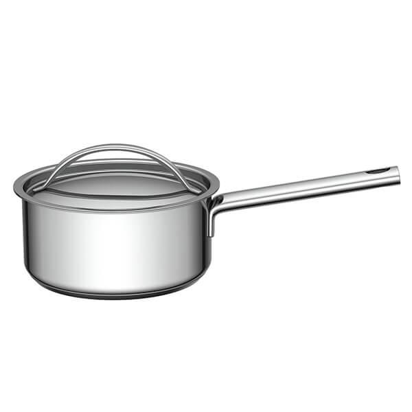 Cacerola+con+Mango+y+Tapa+de+Acero+-+16+cm