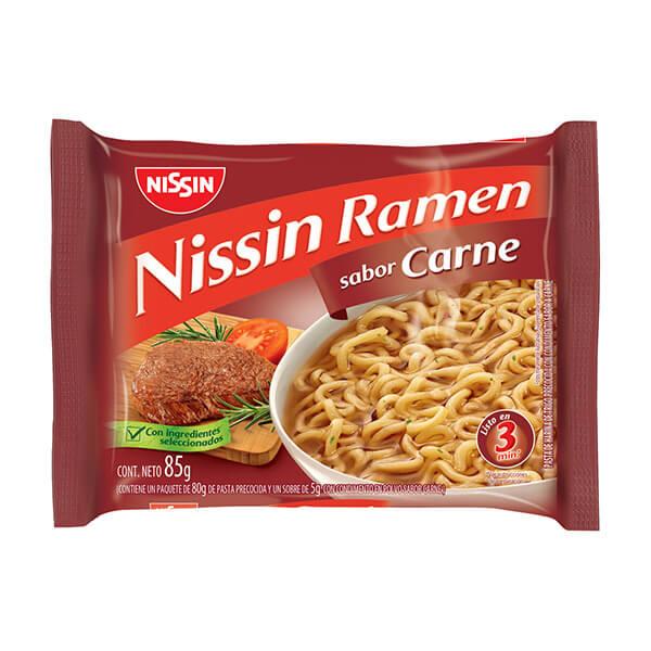 Ramen+Nissin+Carne+