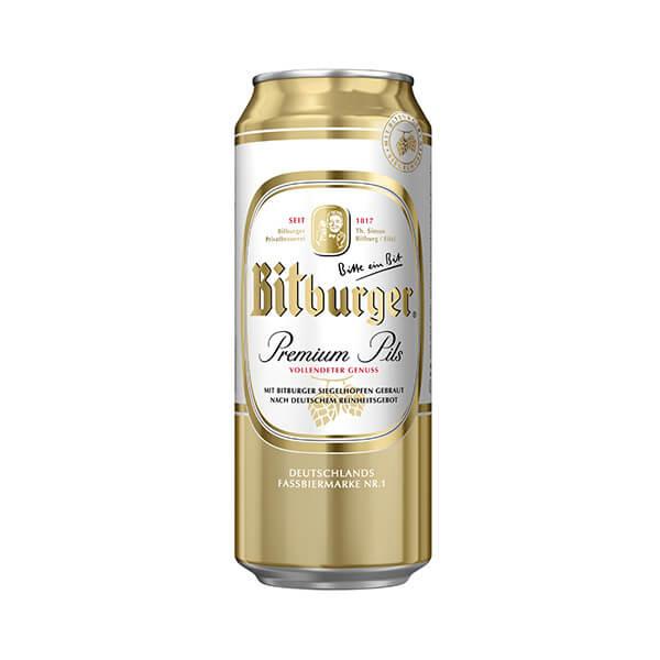 Cerveza+Bitburger+Lata