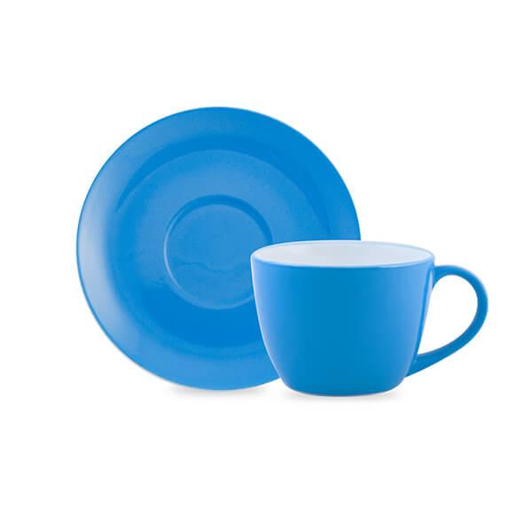 Tazas Desayuno c/plato 6u.