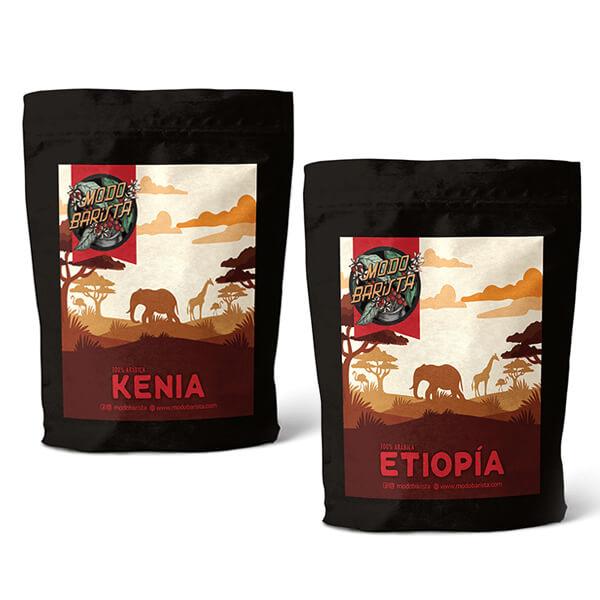 Combo África de Café Tostado 2u. x 250 gr