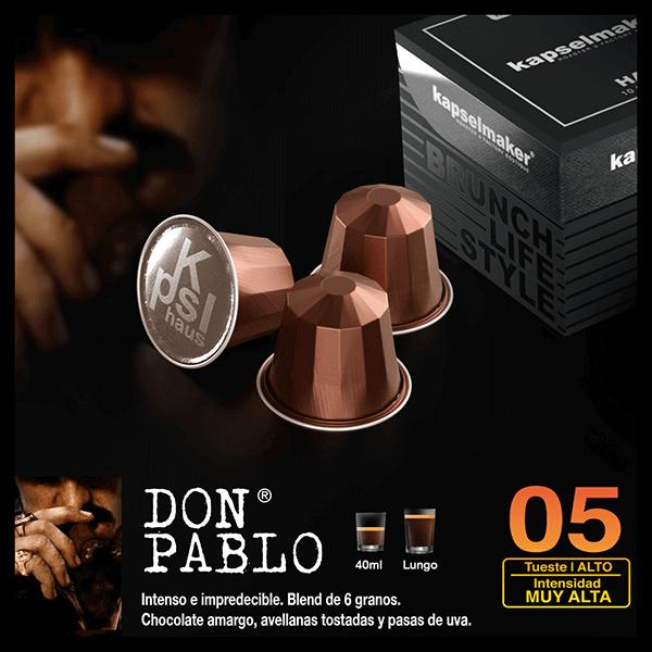 Cápsulas de Café Don Pablo