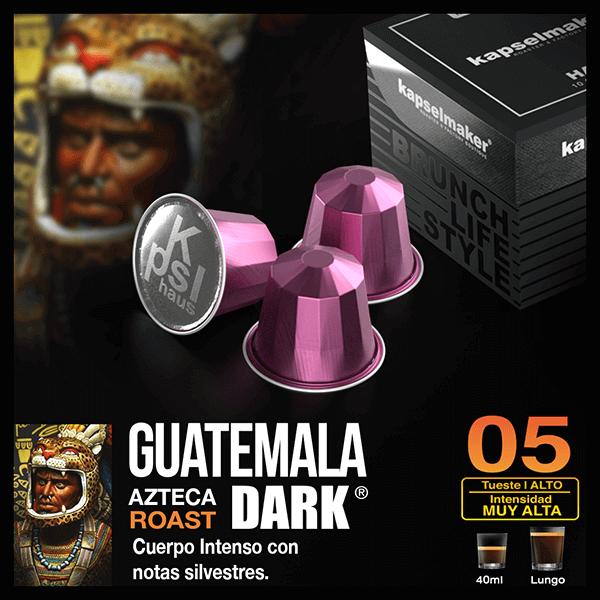 Cápsulas de Café Guatemala Dark