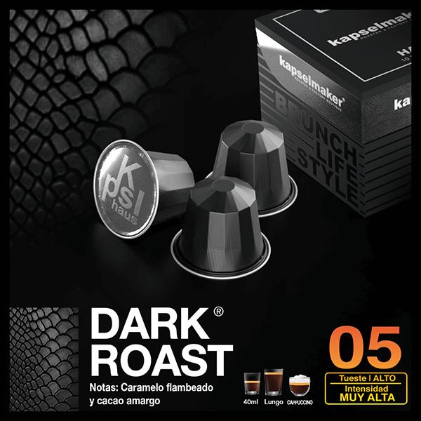 Cápsulas de Café Dark Roast