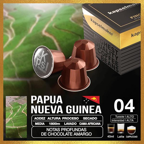 Cápsulas de Café Finca Nueva Guinea