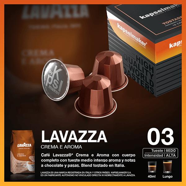 Cápsulas de Café Lavazza Crema e Aroma