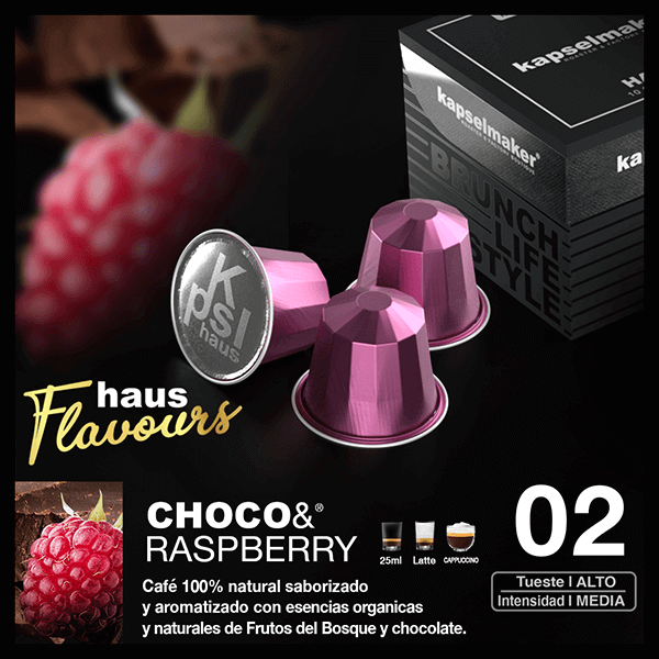 Cápsulas de Café Choco & Raspberry