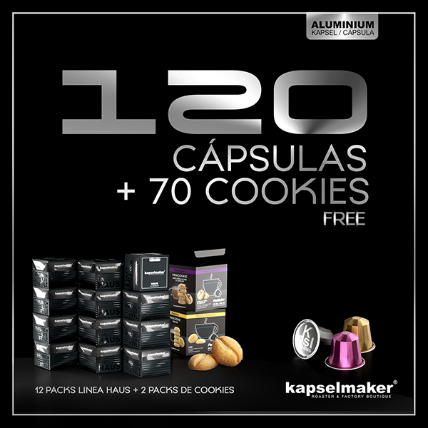 Pack 120 + Cookies x2
