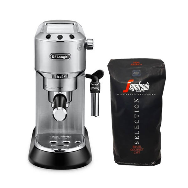 Cafetera+Espresso+%2B+1Kg+Caf%C3%A9+Segafredo