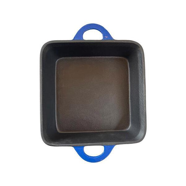 Fuente Cuadrada Azul 25 cm