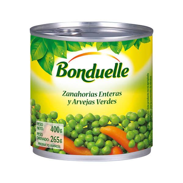 Zanahorias+Enteras+y+Arvejas